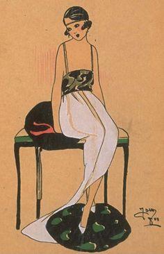 Très Parisien ~ 1920s Fashion