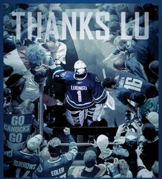 Thanks lou Hockey Games, Vancouver Canucks, Good Ol, Thankful, Seasons, My Favorite Things, Sports, Movie Posters, Fictional Characters