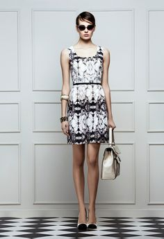 desenli elbise, print dress