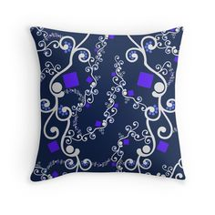Throw Pillow - With a beautiful pattern cover perfect home decoration for  lifting your living room   Kudde - Med underbart mönster perfekt  heminredning och ... b86e5166a49f3