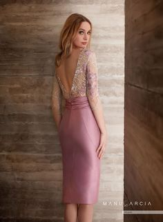Simple Dresses, Elegant Dresses, Nice Dresses, Short Dresses, Prom Dresses, Lace Dress, Strapless Dress, Bodycon Dress, Manu Garcia