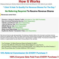 Ad Hit Profits The Online Revenue Sharing Opportunity Discover how Ad Hit Profits can make you money without you needing to get leads, signups or a list. Click here:http://socialmediabar.com/adhitprofitsvenyc28