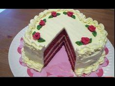 Tarta Terciopelo Rojo Especial San Valentín - Cómo Hacer Red Velvet Cake - YouTube