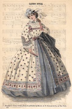 5 Dress Styles That Will Make You Look Thinner. While particular ladies wear products you see on the runway might look terrific on models, they might not look great on every woman. Civil War Fashion, 1800s Fashion, 19th Century Fashion, Ladies Fashion, Gothic Fashion, Victorian Women, Victorian Fashion, Vintage Fashion, French Fashion