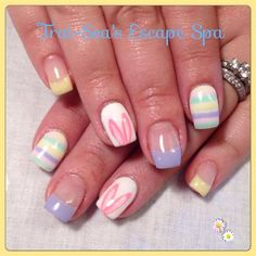 Easter Nails by TraiSeasEscape from Nail Art Gallery