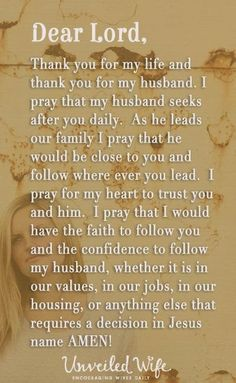 http://thejourneyofbeingawife.blogspot.com/2013/11/praying-for-your-husband.html