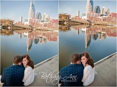 nashville engagement photos  Kady & Ian   Downtown Nashville Engagement