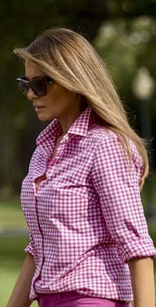First Lady Melanie Trump in J Crew