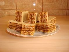Napolitane cu crema caramel - imagine 1 mare