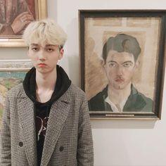 Jong Min, Hip Hop, Kpop, Red Roses, Survival, Korea, Museum, Entertainment, Artist