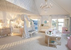Silk Damask Room - traditional - kids - los angeles - by AFK Furniture