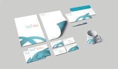 Matching business cards to go with your medical brochure.