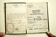 National Archives of India: The passport of Rejendra Prasad, the first president of India