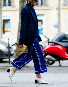 This is J | pjs all day | thisisj.com | BRILLIANT BLUE | STREET STYLE | LA COOL & CHIC
