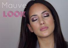 Spring Mauve Look- Using Morphe brushes 35T palette - YouTube