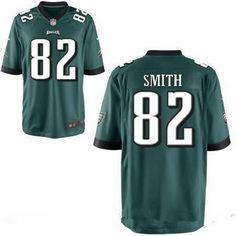 22 Philadelphia Eagles  82 Torrey Smith Midnight Green Team Color Stitched  Men s NFL Nike Elite 04d1dbdf5
