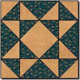 quilt block square ... Mosaic 4 ...