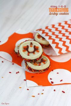 Thanksgiving Turkey Cookies | TheCelebrationShoppe.com