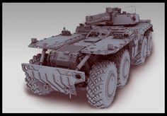 tank on Behance