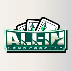 All-In Lawn Care LLC.  Landscape and Lawn Maintenance. Logo Design. 2014.  #logo #logodesign #graphicdesign Let us Design a logo for you Today! : www.possibleweb.com