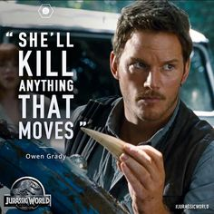 Jurassic World - Owen Grady