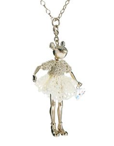 Enlarge Servanne Gaxotte Exclusive To ASOS Crystal Mouse Charm