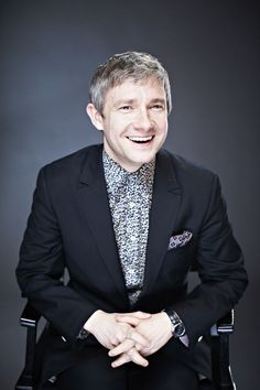 He has THE MOST incredible smile! Versatile actor. Love his portrayal of John Watson.