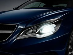 418 - #Parts #AutoParts #MercedesBenz #EClass Multibeam LED lights The new dimension of headlamp technology #Headlamps #MultibeamLed