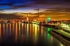 Nacht in Duisburg