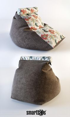 "Кресло-мешок ""Трапеция "" / от российской компании Smartballs. Diy Bean Bag, Bean Bags, Diy Footstool, Bean Bag Living Room, Meditation Chair, Chair Pillow, L Shaped Sofa, Floor Cushions, Diy Arts And Crafts"