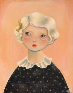 Portrait with Star Dress - Emily Winfield Martin aka The Black Apple