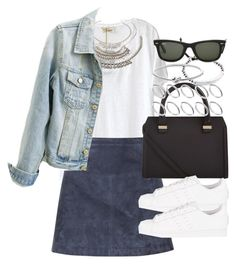 Sin título #3057 by hellomissapple on Polyvore featuring polyvore, fashion, style, American Vintage, Burberry, adidas Originals, Victoria Beckham, Michael Kors, Forever 21, ASOS and Ray-Ban