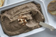 Lentil and Walnut Pate (vegan) ©The Conscious Kitchen Healthy Meats, Healthy Recipes, Vegan Options, Lentils, Vegan Vegetarian, Good Food, Easy Meals, Gluten Free, Ice Cream