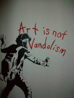 why is vandalism wrong Why can't public transit be free  who brought with them a culture of vandalism,  attracted the wrong crowd—the right crowd,.