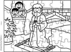 Jesus Ascension Puzzle (Activity Sheet) Activity sheets