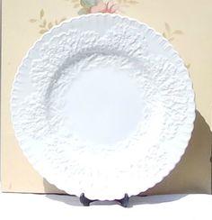 Spode Savoy Dinner Plate Art Deco English Bone by LVNVintage & Royal Essex SHAKESPEARE COUNTRY BLUE Dinner Plates Ironstone ...