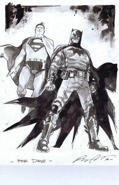 Batman and Superman by Rafael Albuquerque