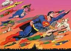 DC Heroes by Neal Adams
