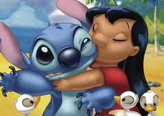 D-108-709 Tenyo Disney Japan Jigsaw Puzzles Lovely Lilo and Stitch
