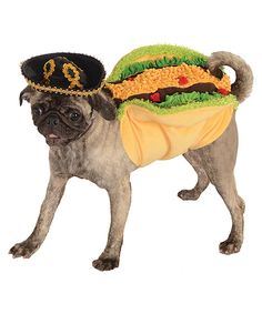 Look at this Taco Pet Costume on #zulily today!