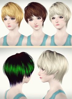 RoseSims Hairstyle 112 Convert from Sims 2 to Sims 3 by Maipham for Sims 3 - Sims Hairs - http://simshairs.com/rosesims-hairstyle-112-convert-from-sims-2-to-sims-3-by-maipham/