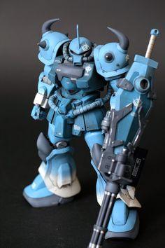 MODELER: Jedi202 MODEL TITLE: N/A MODIFICATION TYPE: custom paint job, custom decals, custom color scheme KITS USED: MG 1/100 Gouf Cus...