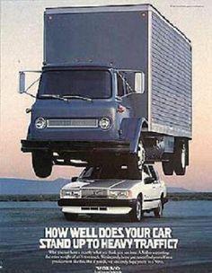 Very Cool Volvo Advertising