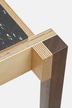 DMDM designer Doug McCollough's craftsmanship infuses warmth and character int. Plywood Furniture, Furniture Projects, Cool Furniture, Furniture Design, Furniture Stores, Luxury Furniture, Antique Furniture, Bedroom Furniture, Plywood Projects