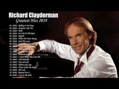 Richard Clayderman Greatest Hits - Best Songs Of Richard Clayderman - Richard Clayderman Playlist Piano Music, Music Songs, Playlist Music, Best Songs, Love Songs, You Tude, Alphaville Forever Young, Adele Rolling, Music For Studying
