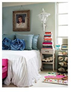 lovely vintage bedroom design