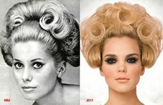 """""""Then and Now"""" #PatrickCameron #Vintage Hair from Spellbound Collection 2013 http://www.patrick-cameron.com"""