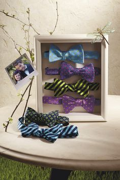 Tip: Real men tie their own bow ties (if you don't know how, come see a bow tie expert at Saks)     For every repin, Saks will donate $1 to St. Jude Children's Research Hospital.