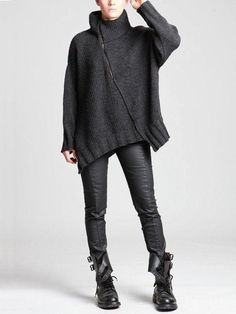 Record of Knitting String rotating, weaving and stitching careers such as for example BC. Knitwear Fashion, Knit Fashion, Look Fashion, Winter Fashion, Womens Fashion, Grunge Fashion, Mode Style, Style Me, Diy Pullover