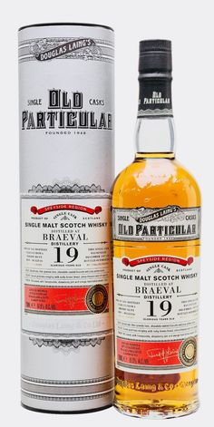 BRAEVAL 1997 19 Year Old Old Particular, Speyside Whiskey Or Whisky, Single Malt Whisky, Scotch Whiskey, Whiskey Bottle, Booze Drink, Bar Drinks, Alcoholic Drinks, Gin, Ms Gs
